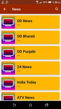 All India TV Channels HD screenshot 5