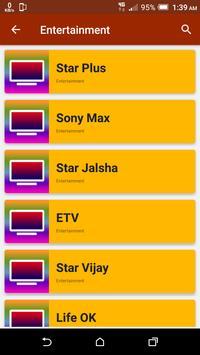All India TV Channels HD screenshot 6