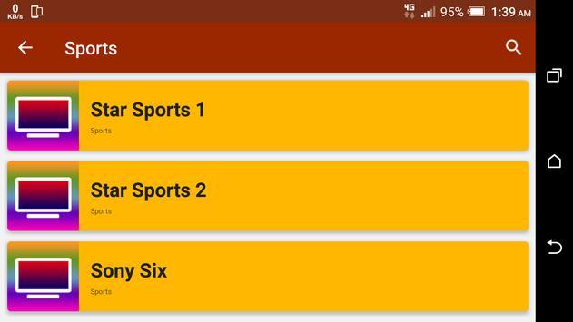 All India TV Channels HD screenshot 8
