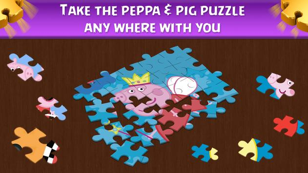 Peppa and Pig puzzle screenshot 1