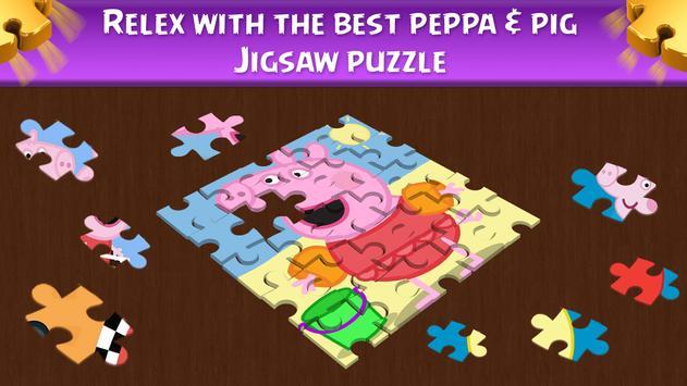 Peppa and Pig puzzle screenshot 2
