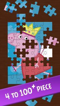 Peppa and Pig puzzle screenshot 5