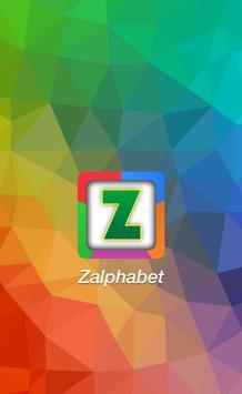 Zalphabet: Alphabet Learning poster