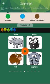 Zalphabet: Alphabet Learning screenshot 23