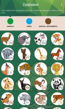 Zalphabet: Alphabet Learning screenshot 9