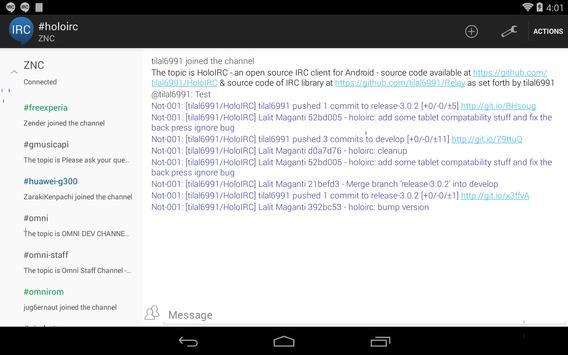 HoloIRC screenshot 9