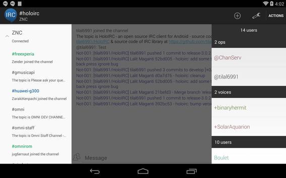 HoloIRC screenshot 10
