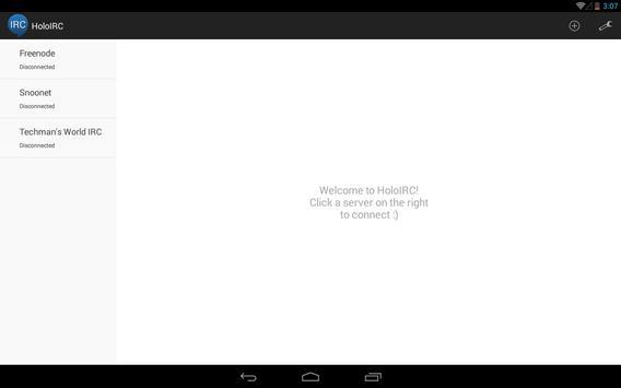HoloIRC screenshot 7
