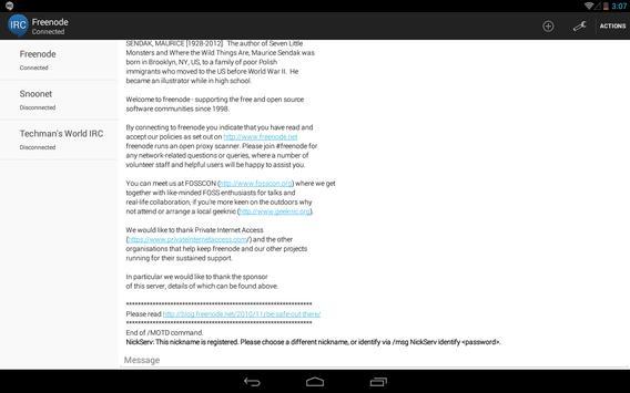 HoloIRC screenshot 8