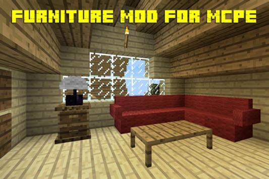Furniture MOD for Minecraft screenshot 1