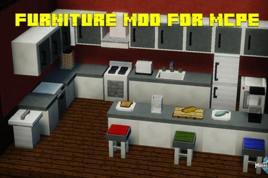 Furniture MOD for Minecraft screenshot 2