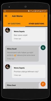 Wema Sepetu apk screenshot