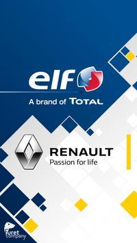 Renault ELF poster