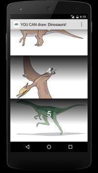 You Can Draw Dinosaurs screenshot 1