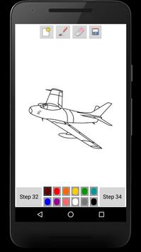 You Can Draw Jet Fighters screenshot 3
