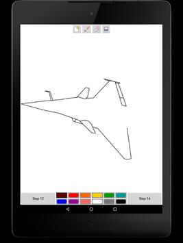 You Can Draw Jet Fighters screenshot 4