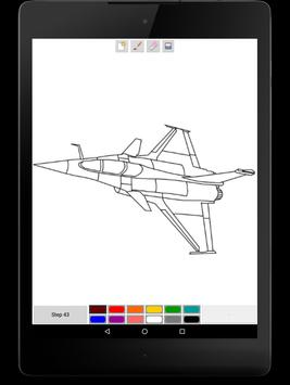 You Can Draw Jet Fighters screenshot 5