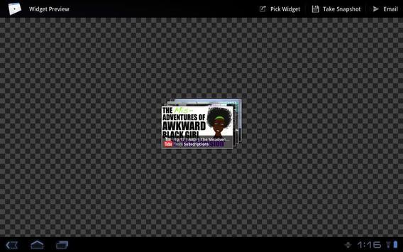 Widget Preview apk screenshot