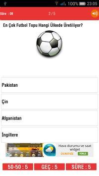 Futbol Bilgi Yarışması-Türkiye apk screenshot