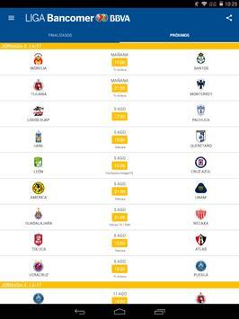 Liga Bancomer MX App Oficial captura de pantalla de la apk