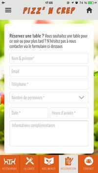 Pizz N Crep apk screenshot