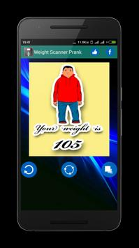 Weight Scanner Prank apk screenshot