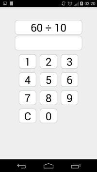 Maths Teaser apk screenshot