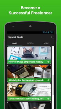 Guide - Upwork Tips and Tricks poster