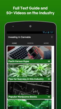 Investing In Weed Stocks poster