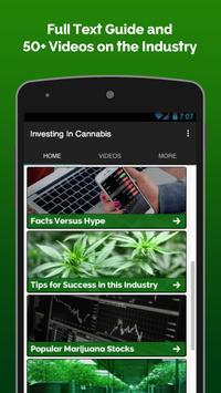 Investing In Weed Stocks apk screenshot