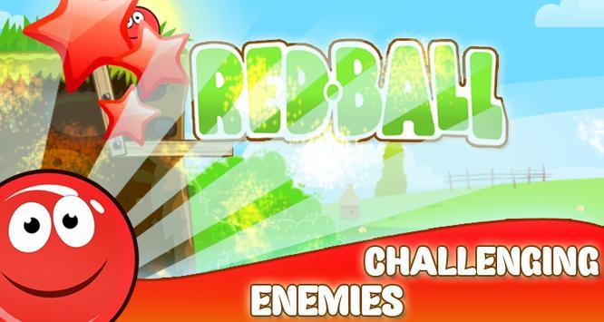 Cool Red ball apk screenshot