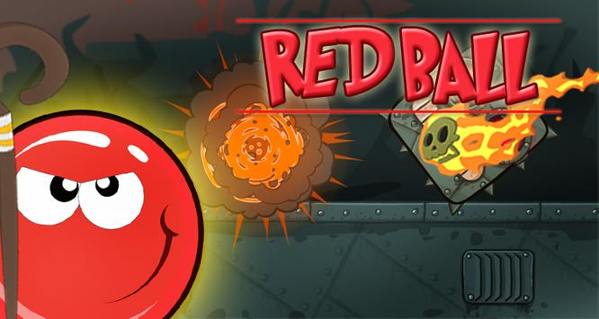Tap Red Ball poster