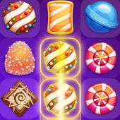 Flurry Candy - Match 3 Game icon