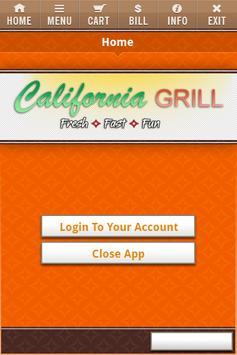 California Grill poster
