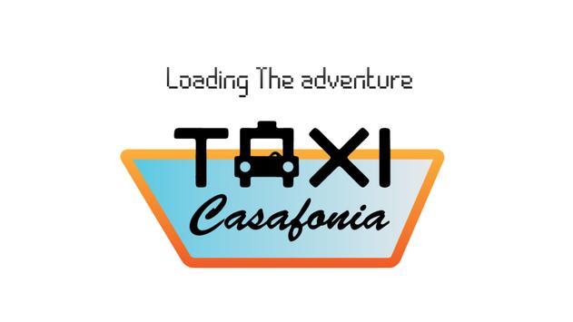 Casablanca Taxi Race poster