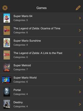 FramePerfect Speedrun Timer apk screenshot