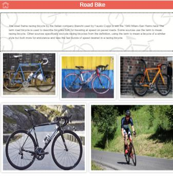 Cycle Guru - Information about different Bicycles screenshot 5