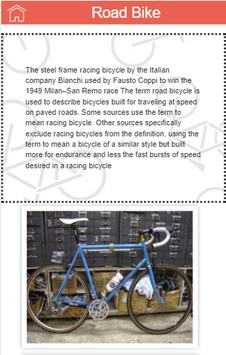 Cycle Guru - Information about different Bicycles screenshot 1