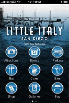 San Diego's Little Italy poster