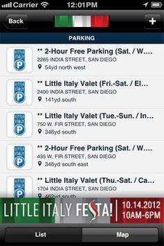 San Diego's Little Italy screenshot 1