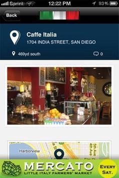 San Diego's Little Italy screenshot 3