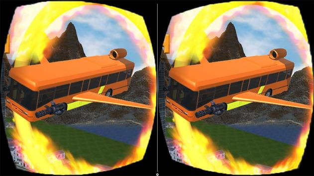 Futuristic Flying Bus VR apk screenshot