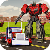Robot Car Transport Truck 2017 icon