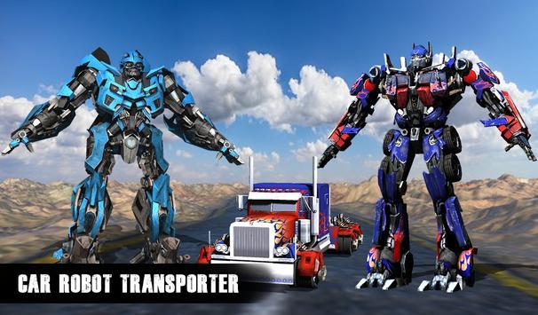 Robot Car Transport Truck 2017 poster