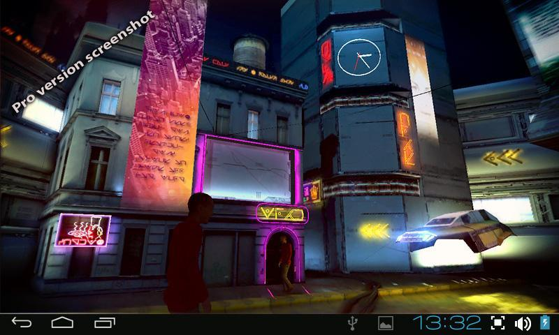 Futuristic City 3D Free lwp for Android - APK Download
