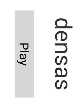densas poster