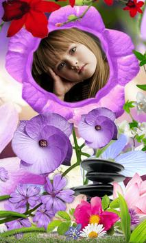 Flowers Photo Camera poster
