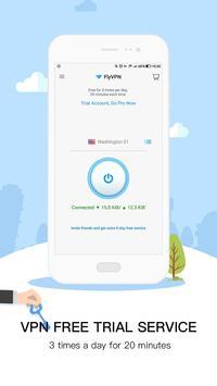 FlyVPN (Free VPN, Pro VPN) apk screenshot