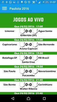 Futebol Paulista 2016 poster