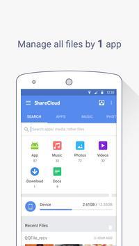 ShareCloud - Share By 1-Click apk screenshot